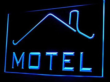 Motel Led Light Sign