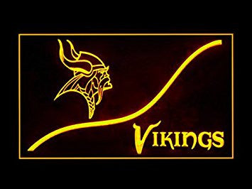 Minnesota Vikings Neon Sign (Cool. LED. Light)