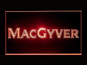 Macgyver Hub Bar Advertising LED Light Sign P499R