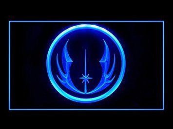 Star Wars Jedi Knight Led Light Sign