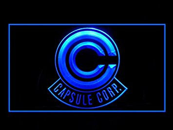 Dragon Ball Z Capsule Corp. Hub Bar Advertising LED Light Sign P890B