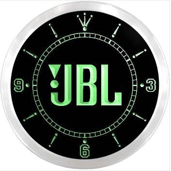 JBL Neon Sign LED Wall Clock
