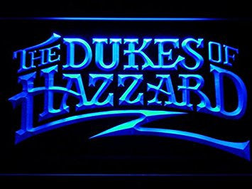 The Dukes Of Hazzard Neon Sign (Light. Man Cave. LED)