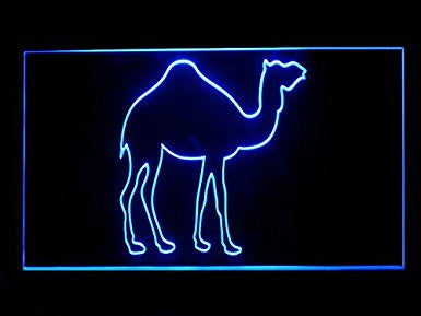 Animal Decor Desert Camel LED Sign Neon Light Sign Display