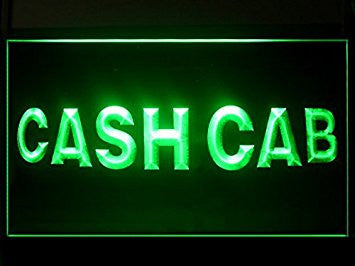 Cash Cab Hub Bar Advertising LED Light Sign P563G