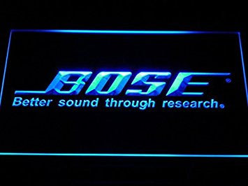 Bose Theater Systems Speakers LED Neon Light Sign Man Cave K022-B