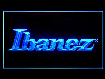 Ibanez Guitars Bass Band Led Light Sign