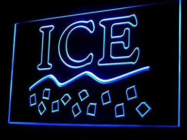 Ice LED Sign Neon Light Sign Display