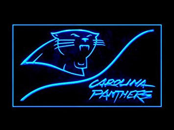 Carolina Panthers Neon Sign (Cool. LED. Light)