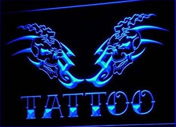 Tattoo Shop Newest Display Bar Neon Light Sign