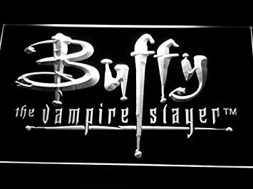 Buffy the Vampire Slayer Neon Sign (Light. Movie. LED. Man Cave. G137-W)