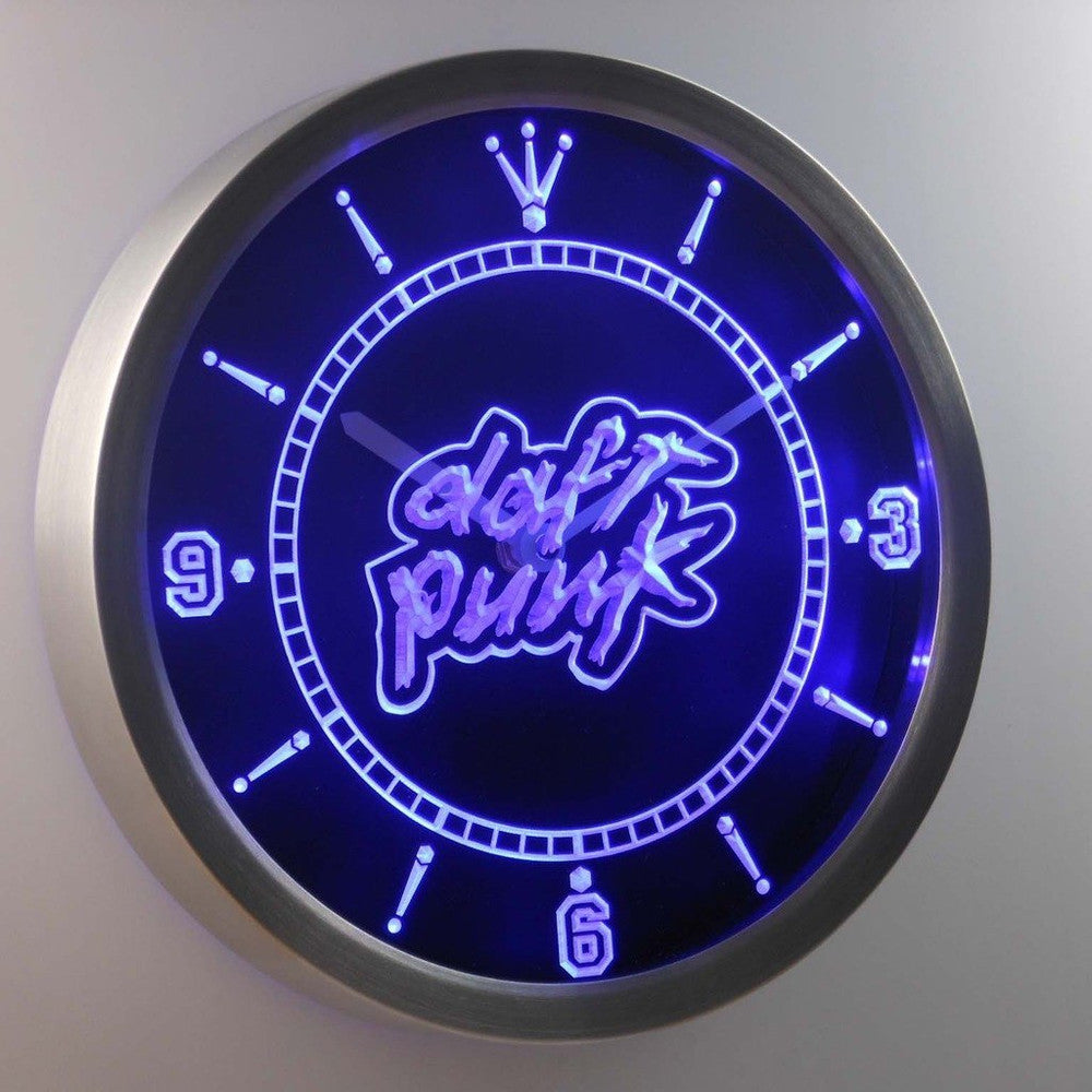 DISCOVERY DAFT PUNK SCOTT GROOVES 3D Neon Sign LED Wall Clock NC0037-B