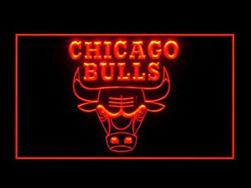 Chicago Bulls Neon Sign (LED. Light. Sign)