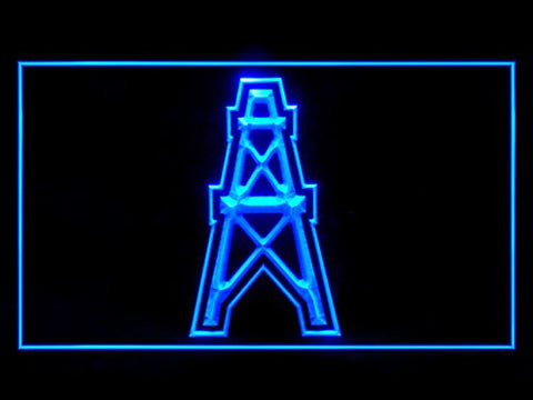 Houston Oilers 1980-1996 Neon Sign (LED. Light)