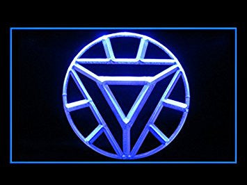 ARC Reactor Iron Man Mark 6 Neon Sign (LED. Light)