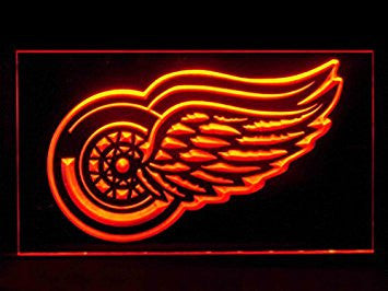 Detroit Red Wings Neon Sign (LED. Light)