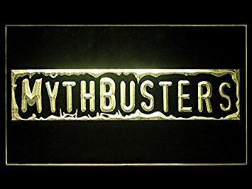 Mythbusters Adam & Jamie Hub Bar Advertising LED Light Sign P566Y