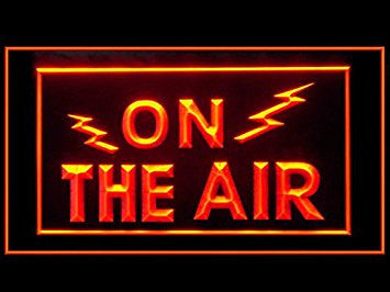 On The Air Radio Record Studio Display Led Light Sign