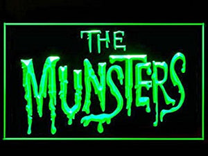 The Munsters Led Light Sign