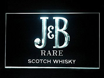 J & B Scotch Whisky Sport Game Bar Hub Advertising LED Light Sign J605W