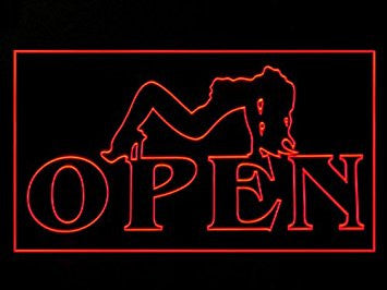 Live Nude Girl Sexy Exotic Erotic Dancer Club Bar Led Light Sign