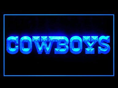 Throwback Cowboys Neon Sign (Light. Display. LED)