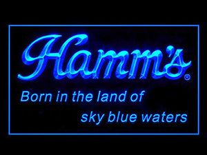 Hamms Beer Neon Sign (Bar. Pub. LED. Bear. Light)