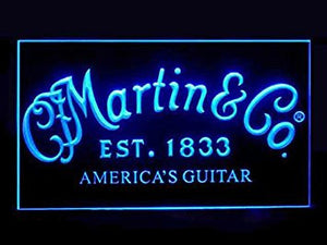 Martin Guitars Parts Led Light Sign