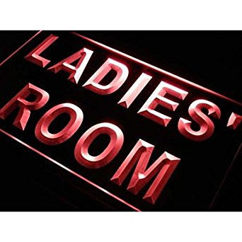 BuW LADIES' ROOM TOILET Washroom Neon Light Sign. led flood lights princess n...