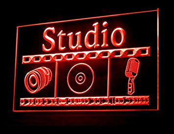 Studio Recording On Air Led Light Sign