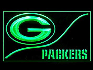 Green Bay Packers Neon Sign (Cool. LED. Light)