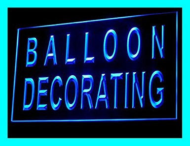 Party Store Balloon Decorating LED Sign Neon Light Sign Display