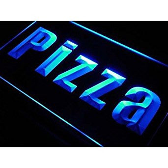 BuW Pizza Shop Cafe Business Lure Neon Light Sign. led lights for home pretty...
