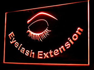 Eyelash Extension Shop Led Light Sign