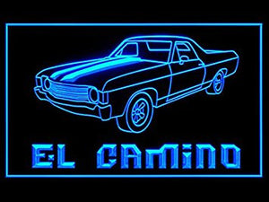 El Camino Bar Led Light Sign