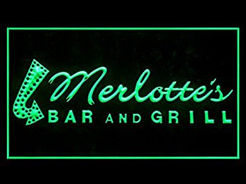 Merlotte's True Blood Hub Bar Advertising LED Light Sign P751G