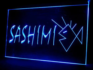 Fresh Sashimi Sushi Restaurant Shop Led Light Sign
