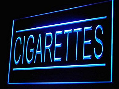C B Signs Tobacco Store Cigarettes LED Sign Neon Light Sign Display