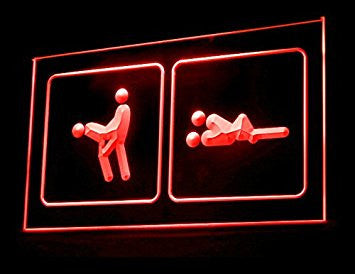 Sex Position Led Light Sign