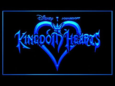 Kingdom Hearts Neon Sign (Sora. Bar. Hub. Advertising. LED. Light. J827B)