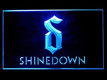 Shinedown (Pattern 1) Hub Bar Advertising LED Light Sign P269B