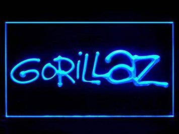 Gorillaz Neon Sign (Bar. Pub. LED. Light)