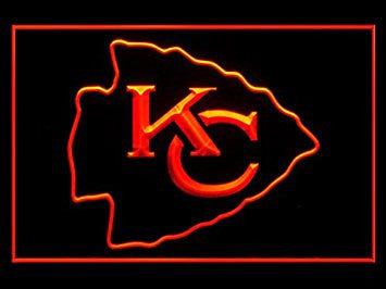 Kansas City Chiefs Neon Sign (LED. Light. KC)