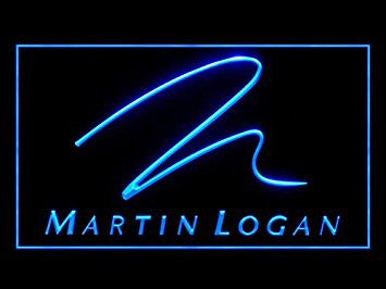 Martin Logan Neon Sign (Speaker. Audio. LED. Light)
