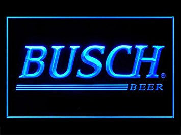 Busch Beer Neon Sign (Bar. LED. Light)
