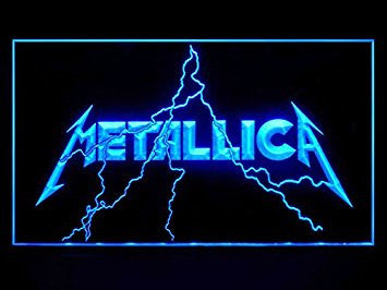 Metallica Neon Sign (Bar. Hub. Advertising. LED. Light. J704B)