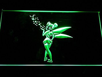 Tinkerbell LED Neon Light Sign Man Cave G143-G