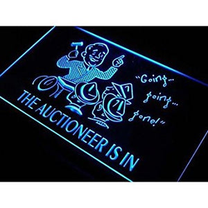 BuW Auctioneer is in Auction Decor Neon Light Sign. led lights cool night lig...