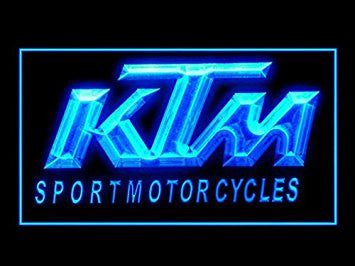 KTM Motorcycles Led Light Sign
