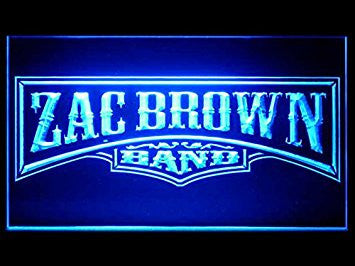 Zac Brown Hub Bar Advertising LED Light Sign P379B